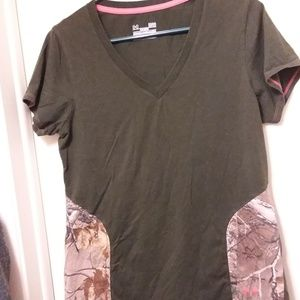 Under Armour Realtree Camo Semi-fitted tee L